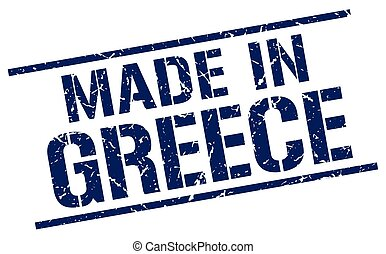 made in Greece stamp
