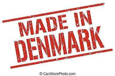 made in Denmark stamp