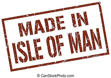 made in Isle Of Man stamp