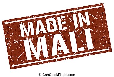 made in Mali stamp