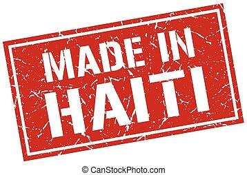 made in Haiti stamp