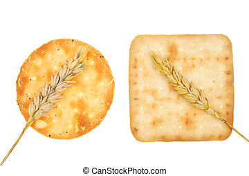 Biscuits and wheat