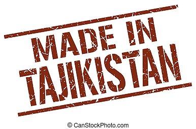 made in Tajikistan stamp