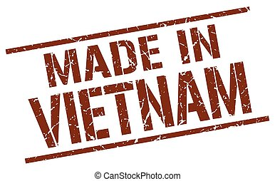 made in Vietnam stamp