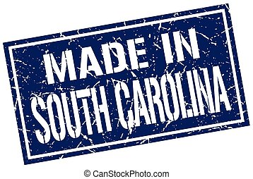 made in South Carolina stamp