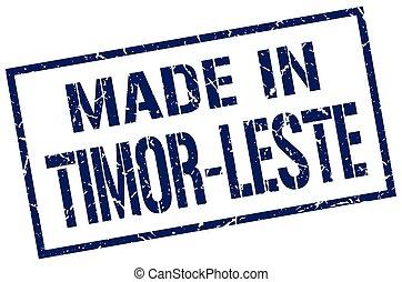 made in Timor-Leste stamp