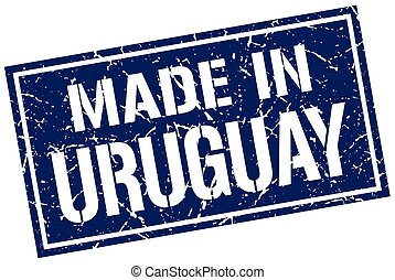 made in Uruguay stamp