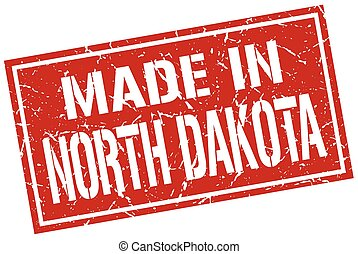 made in North Dakota stamp
