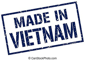 made in Vietnam stamp