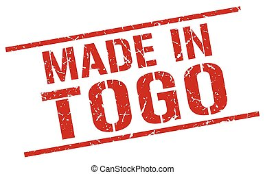 made in Togo stamp