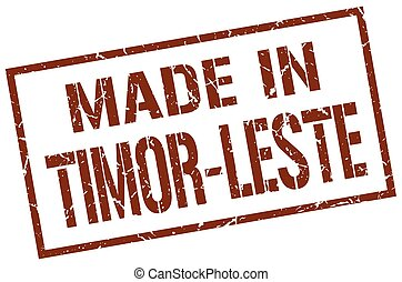made in Timor-Leste stamp