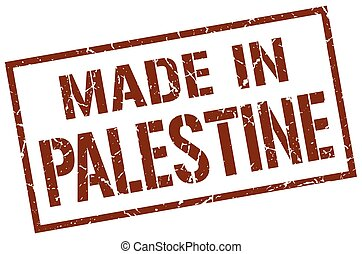 made in Palestine stamp