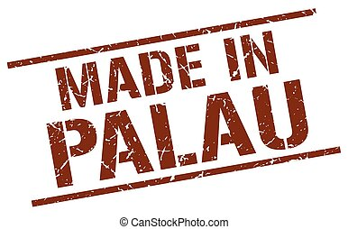made in Palau stamp