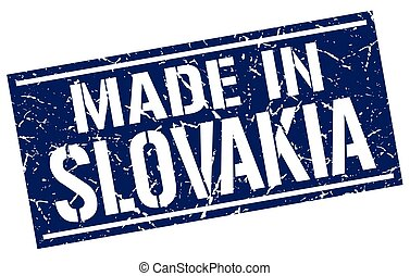 made in Slovakia stamp