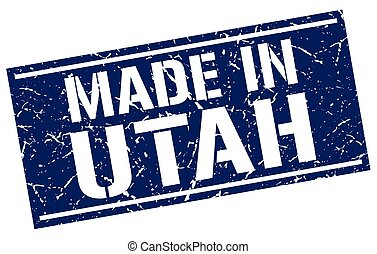 made in Utah stamp