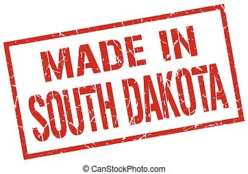 made in South Dakota stamp