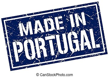 made in Portugal stamp