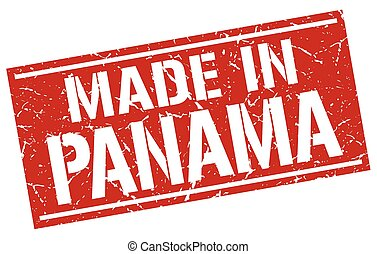 made in Panama stamp