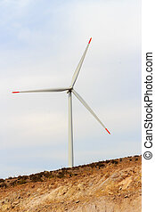 Renewable energy wind vane. - Alternative energy wind vane....