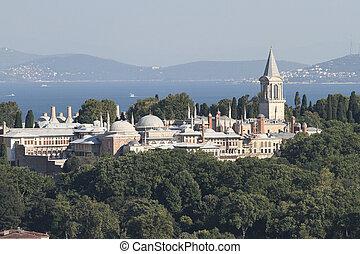 Topkapi Palace in Istanbul City - Topkapi Palace in...