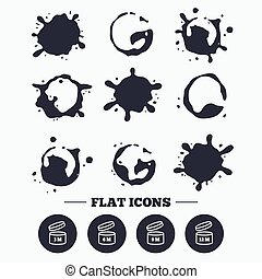 After opening use icons. Expiration date product - Paint,...