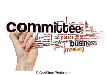 Committee word cloud concept - Committee word cloud