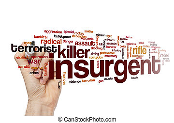 Insurgent word cloud concept - Insurgent word cloud