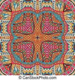 Abstract  ethnic seamless pattern ornamental