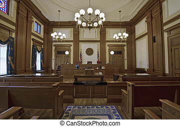 Historic Building Courtroom 3 - Historic Building Courtroom...