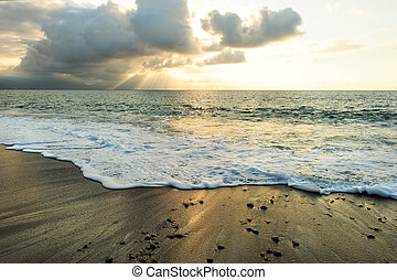 Sunset Ocean Rays - Sunset ocean rays is a bright uplifting...