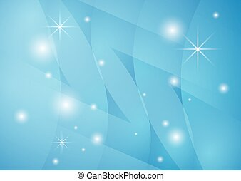 star vector background with blue