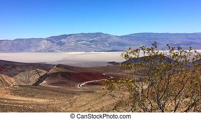Death Valley Landscape from Father Clowley Point - Panamint...