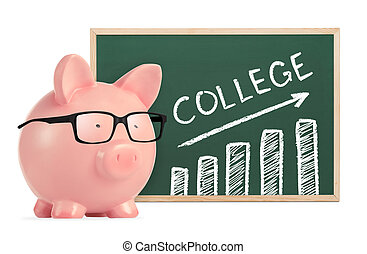 Saving for college concept