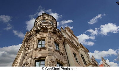 building in the center Dresden - The building in the...