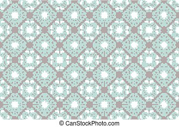 Seamless floral pattern Vintage color style Editable vector...