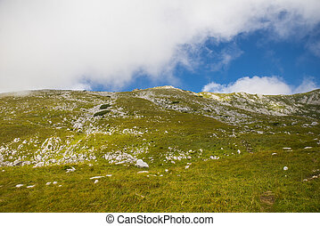 Stol mountain, Slovenia - View from the top of Stol...