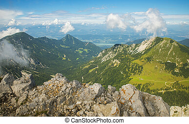 Stol mountain, Slovenia - Stol mountain, view on Austria,...