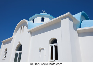 Small church in Kos island, Greece