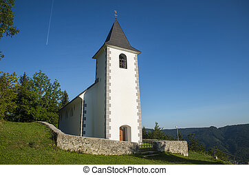 St. Vid church, Tuhinj valley, Slovenia - St. Vid church in...