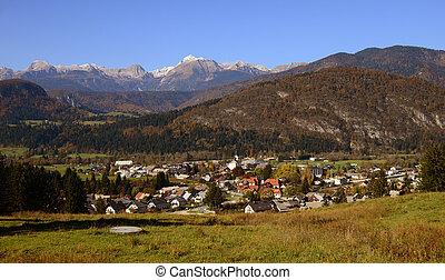 Bohinjska Bistrica in Slovenia, Triglav - Bohinjska Bistrica...