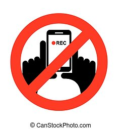 Stop vertical video It is forbidden to record video -...