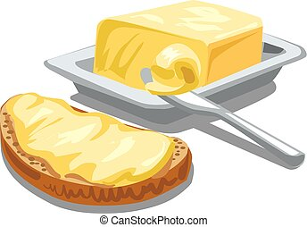 butter with bread