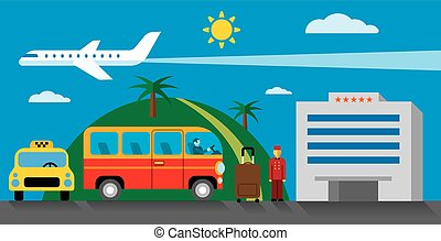 hotel transfer and resort