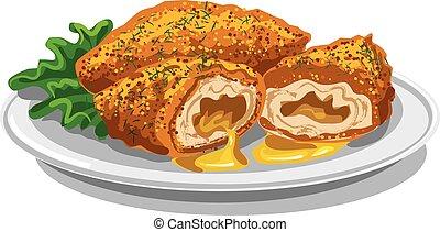 chicken kiev cutlets