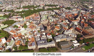Center of the old European city - HD - Center of the old...