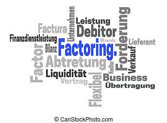 Factoring Abtretung Finanzdienstleistung (in german...