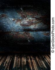 empty room - Interior of an empty room 3d rendering