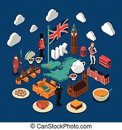 Great Britain Concept Composition - Great Britain concept...