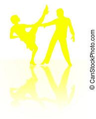 Taniec, cień