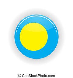 Palau icon circle - icon circle isolated on white...